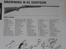 BROWNING BSS SHOTGUN EXPLODED VIEW