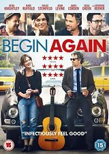 Begin Again Keira Knightley, Mark Ruffalo, Adam Levine NEW AND SEALED UK R2 DVD