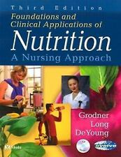 Foundations and Clinical Applications of Nutrition: A Nursing Approach, 3e, DeYo