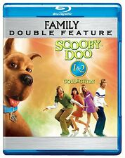 SCOOBY DOO 1 & 2  MONSTERS UNLEASHED -  Blu Ray - Sealed Region free for UK