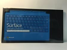 Microsoft Surface Type  2 Cover Keyboard 2 Canada/French Layout- Cyan
