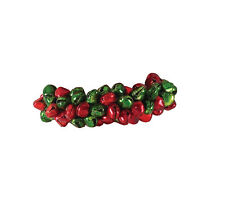 NAPKIN RING - JINGLE BELLS - RED & GREEN - PARK DESIGNS - CHRISTMAS HOLIDAY