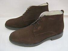 Saldi scarpe in pelle di camoscio marrone tipo Clark N°40-41