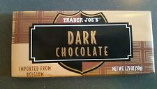 NEW 6 Trader Joes Dark Chocolate Candy Bars NO ARTIFICIAL FLAVORS/PRESERVATIVES