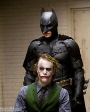 Christian Bale Heath Ledger Batman The Dark Night 8x10 Photo 009