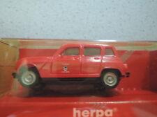 HERPA 4119 renault r4 pompiers sécheresse en OVP de Collection (3)