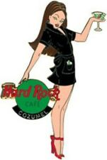 Hard Rock Cafe COZUMEL 2003 Girls of Rock GOR #2 PIN Waitress Black Uniform HRC