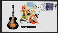 1947 Epiphone Broadway & Pin Up Girl Featured on Collector's Envelope *409