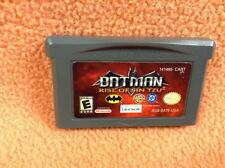 Batman Rise of Sin Tzu Gameboy Advance GBA Pal USA Eccellente