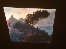 "Claude Monet ""Varengeville Church"" 35mm French Impressionist Art Slide"