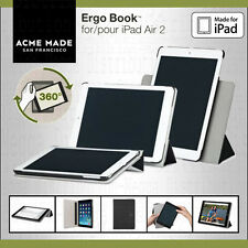 Acme Made Ergo Book Rotating Stand Folio Case + Hand Strap for Apple iPad Air 2