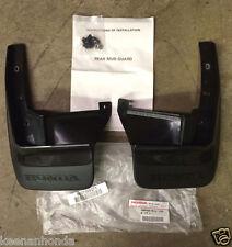 Genuine OEM Honda CRX Rear Splash Guard Set  1990-1991 SH2