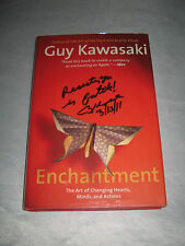Enchantment Changing Hearts Minds Actions by Guy Kawasaki SIGNED 1st/1st 2006 HC