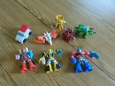 Transformers rescue bots lot heatwave optimus prime blades bumblebee boulder