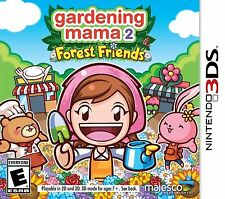 NINTENDO 3DS GARDENING MAMA 2 FOREST FRIENDS BRAND NEW VIDEO GAME