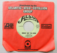 CLARENCE REID 45 Nobody But You Babe ALSTON Soul AKA Blowfly #B262