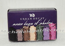 New Urban Decay Seven Days of Shadow Deluxe Sampler