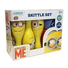 Despicable Me Minions Children Kids Skittle Set Bowling Indoor Outdoor Playset