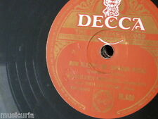 78rpm KATHLEEN FERRIER now sleeps the crimson petal / to daisies