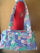 NWT 3 PC NAVA DESIGN LIMITED EDITION UNISEX STROLLER DIAPER PADDED QUILTED BAG