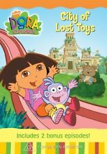 Dora the Explorer: City of Lost Toys DVD NEW