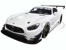 MERCEDES AMG GT3 PLAIN COLOR VERSION MATT WHITE 1/18 MODEL CAR BY AUTOART 81531