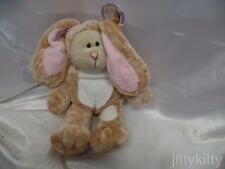 STARBUCKS LONG FLOPPY EAR BROWN BUNNY BEARISTA BEAR 60th Ed. 2007 NWT *ASIA ONLY