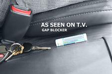 GAP BLOCKERS patented (2PK SET) STOP DROP CREVICE CAR SEAT CRACK CADDY CATCH