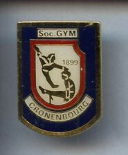 RARE PINS PIN'S .. SPORT GYM GRS GYMNASTIQUE CRONENBOURG  ~1A