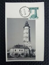 POLEN MK 1958 RATHAUS BIECZ MAXIMUMKARTE CARTE MAXIMUM CARD MC CM c3886