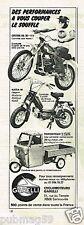 Publicité advertising 1979 Les Cyclomoteurs Garelli