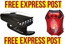 Moon Mask / SHIELD Bicycle Light Set - Front and Rear Bike Lights - EXPRESS POST