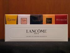 Lancome 5 Pcs Gift Set EDP Women Perfume Miniature Splash 3x5ml, 1x4ml & 1x7.5ml