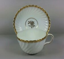 MINTON GOLD ROSE TEA CUP AND SAUCER (PERFECT)