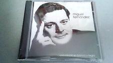 """MIGUEL FERNANDEZ """"UNA MIRADA EN BLANCO Y NEGRO"""" CD 11 TRACKS COMO NUEVO"""