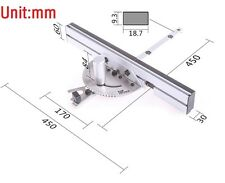 Table Saw Precision Miter Gauge System Professional Woodworking