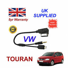 VW Touran MICRO USB & AUX input 3.5mm Cavo Audio per Samsung HTC LG mp3 NOKIA S