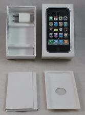 Apple IPhone 3GS Box with Power Plug, White Box, instructions, inserts