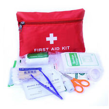 38Pcs Car Travel Outdoor Camping Home Emergency Medical First Aid Kit Carry Bag
