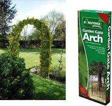 GARDEN ARCH FOR CLIMBING PLANTS TRELLIS ROSE 2.4mx1.4m IVY ARCHWAY METAL
