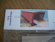 GC Laser Building Kit HO Scale Kit Covered Bridge  #1318  Bob The Train Guy