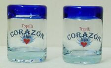 CORAZON ARTISAN TEQUILA SHOT GLASSES - Pair -Collectibles