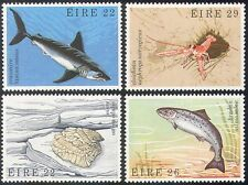 Ireland 1982 Sharks/Salmon/Prawn/Oyster/Marine/Fish/Nature 4v set (n41298)