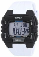 NEW-TIMEX EXPEDITION SHOCK,BLACK+WHITE TONE,RESIN BAND,DIGITAL WATCH T49901