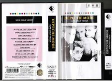 Promo DEPECHE MODE Some Great Videos JAPAN VHS VIDEO BVVP-97 w/PS NTSC Free S&H