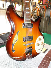 Italia Rimini 12-String Electric Guitar in Cherry Sunburst