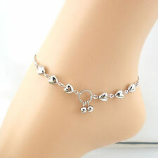 Anklets Heart Cherries Shape Women Ankle Bracelet Foot Jewellery.