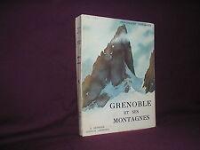 Grenoble et ses montagnes par Chevallier couverture de Samivel alpinisme Alpes