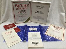 Vtg HOW to HOST a MURDER Mystery Game: THE WATERSDOWN AFFAIR 1985 -NIB Sealed