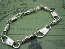 ACTS Sterling Silver Fishers Of Men Bracelet 8.5 inches